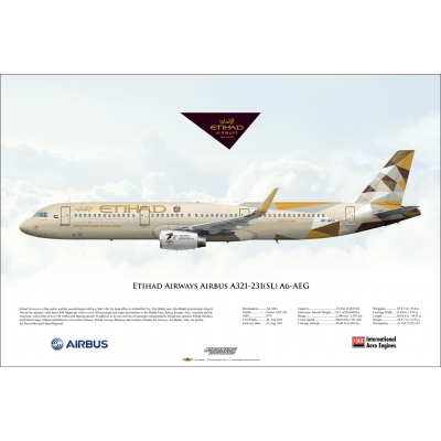 Etihad Airways Airbus A321-231SL A6-AEG