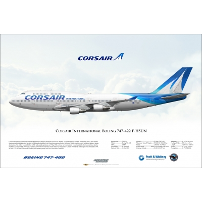 Corsair International Boeing 747-422 F-HSUN