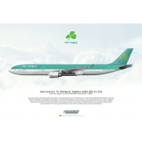 Aer Lingus St Patrick Airbus A330..