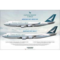Cathay Pacific Cargo Boeing 747-4..