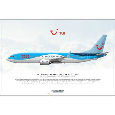 TUI Airways Boeing 737 MAX 8 G-TUMA