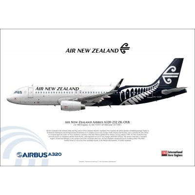 Air New Zealand Airbus A320-232 ZK-OXB