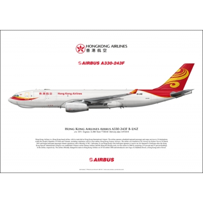 Hong Kong Airlines Airbus A330-243F B-LNZ