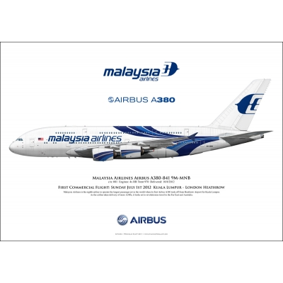 Malaysia Airlines Airbus A380-841 9M-MNB