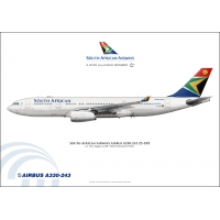 South African Airways Airbus A330..