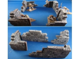 Destroyed buildings 1.32 scale