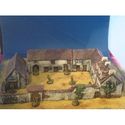 La Haye sainte farm battle of waterloo complete layout