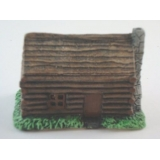 American civil war log cabin K4
