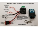 Wireless Winch and Dual Light Controller