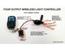Four Output Wireless Light Controller