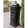 Aluminium Freestanding Post Box