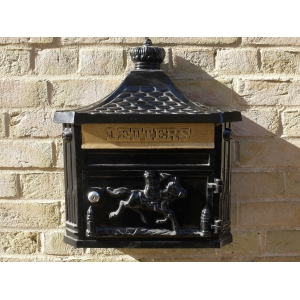 Wall Mounted Metal Post Box