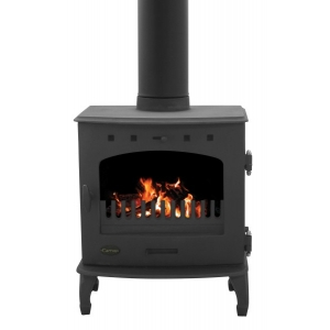 Carron 4.7Kw Matt Black..