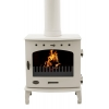 Carron 7.3Kw Enamel Finish Cast Iron Multi-fuel Stove - various colours