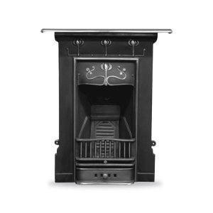 Abbott Cast Iron Fireplace