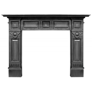 The Hampton Cast Iron Surround
