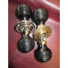 REAL EBONY Beehive Door Knobs