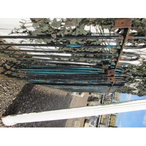 Hoop Top Iron Railings