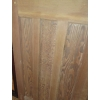 Reclaimed 1930's  4-panel 1 over 3 Pine  Door - stripped