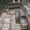 "Reclaimed Victorian 6"" x 6"" x 1"" Red Quarry Tiles"