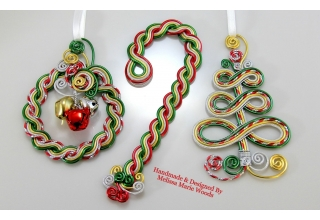 Very Merry Christmas Ornaments