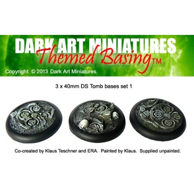 40mm DS Tomb bases set 1