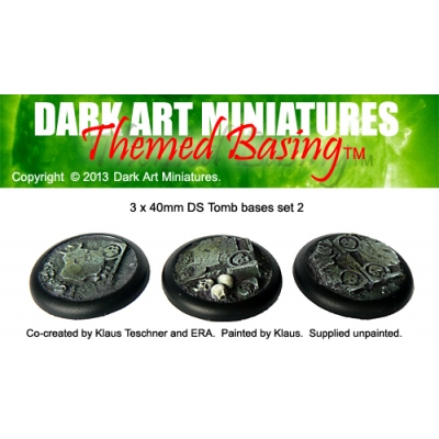 40mm DS Tomb bases set 2
