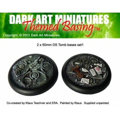 50mm DS Tomb bases set 1