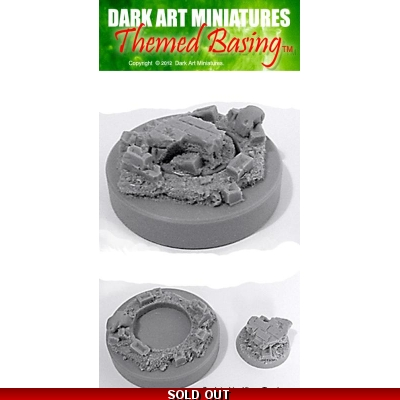 50mm round Urban display plinth