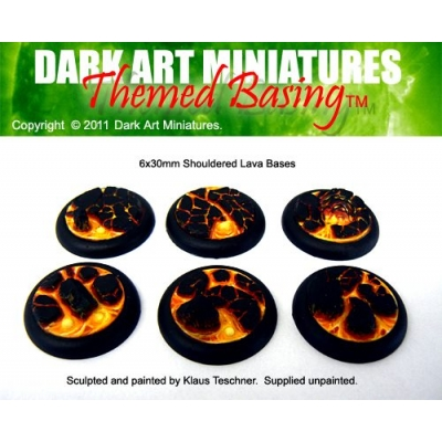 30mm DS Lava bases