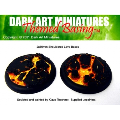 50mm DS Lava bases