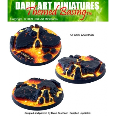 60mm Lava base