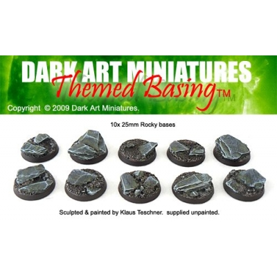 25mm Rocky bases
