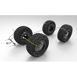 2WayAir 4 Wheel Master Kit