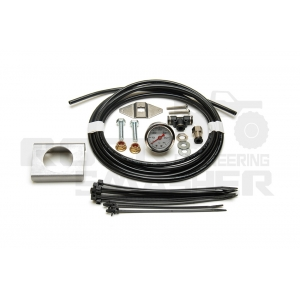 2WayAir Oil Filled Gauge Add On Kit 0-60 psi