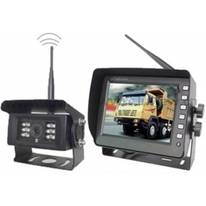 "Single camera digital wireless rear view camera system with 5"" monitor"