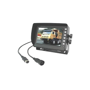 "4 Channel, 5"" Monitor for Rear View Camera Systems"