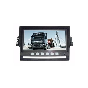 "4 Channel, 7"" Monitor for Rear View Camera Systems"