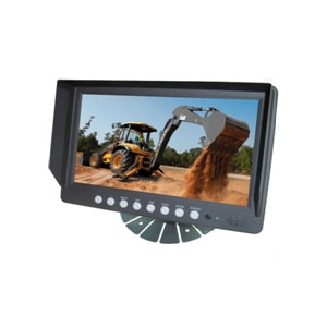 "4 Channel, 9"" Monitor for Rear View Camera Systems"