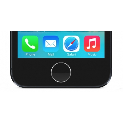 iPhone 5s Home Button Repair Replacement Black