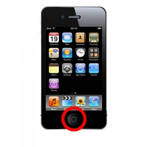 iPhone 4S Home Button Repair Service Black or White