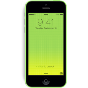 iPhone 5c LCD Screen Repair Black Chipping Sodbury iPhone Repair