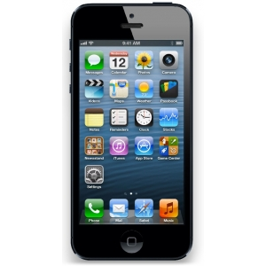 iPhone 5 LCD Screen Repair Black Chipping Sodbury iPhone Repair