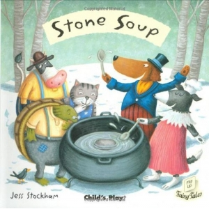 FLIP UP FAIRY TALES STONE SOUP