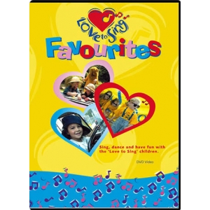 LOVE TO SING: FAVOURITES DVD