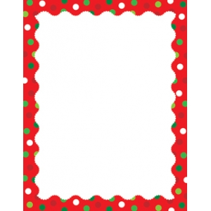 COMPUTER PAPER: HOLIDAY DOTS