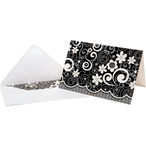 Flower Doodles Boxed Note Ca..