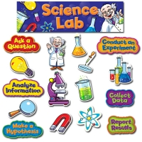 Science Lab Mini Bulletin Board Set