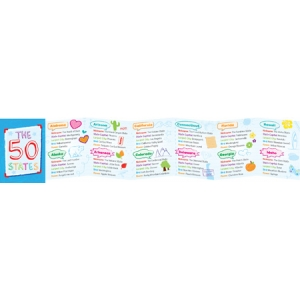 The 50 States Mini Magnet Book