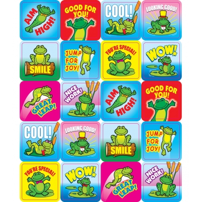 Stickers: Frogs Motivational
